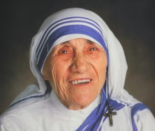 Mother Teresa Smile